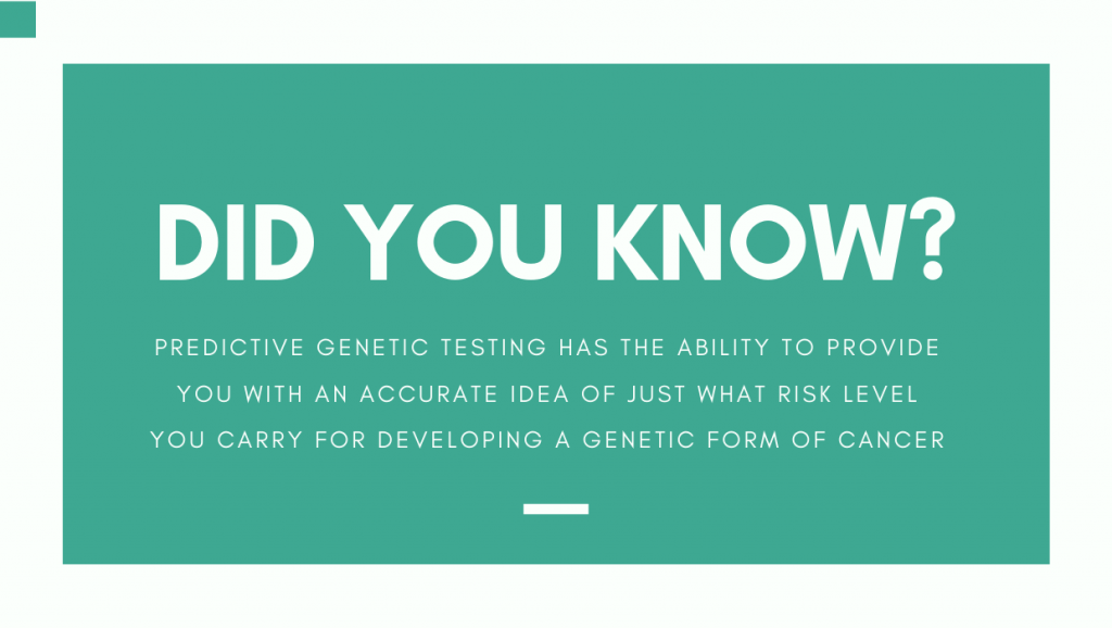 A look at Genetic Tests for Cancer Risk